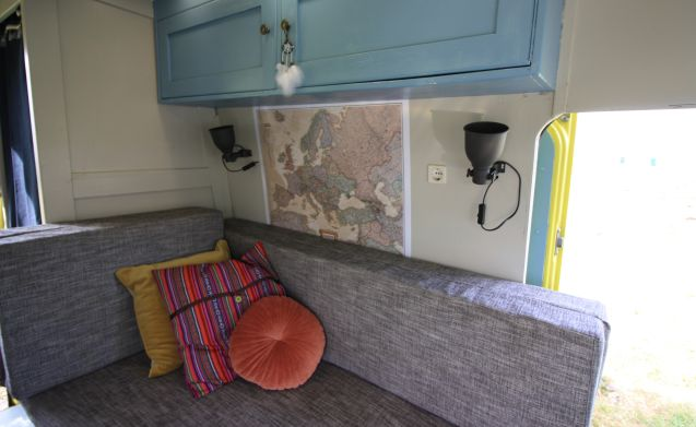 Passie. Sfeer. Design. – Unique camper in which you can relax but also celebrate life.