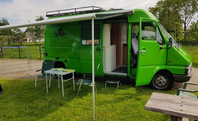 Mein zäher Renault Master Camper