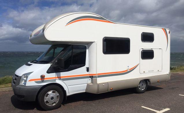 Scottish Highlands - 6 Berth Motorhome