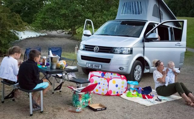 Lusso unico glamping VW Camper Lake Windermere