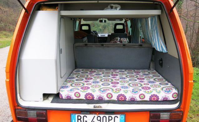 """Dexter – Rusty Campers VW T3 Westfalia 1.6 TD """"Dexter"""""""