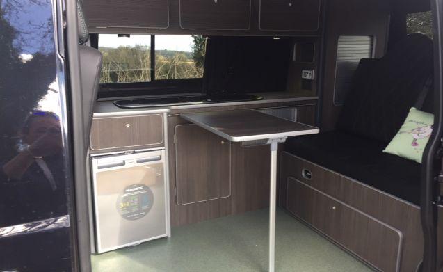 VW T5 Camper Van Rental In Cornwall