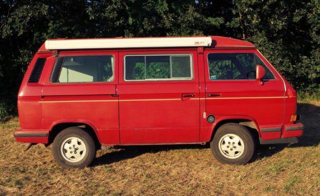 Volkswagen T3 California – Nostalgisch op vakantie met een Volkswagen California