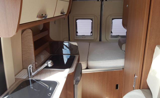 Compact motorhome where you can really reach the most beautiful spots.