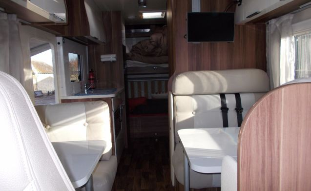 7 berth Motorhome For hire Doncaster