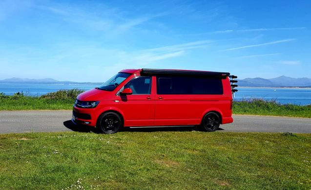 AVAILABLE Aug VW Volkswagen Transporter T6 2016 long wheel base , 4 berth