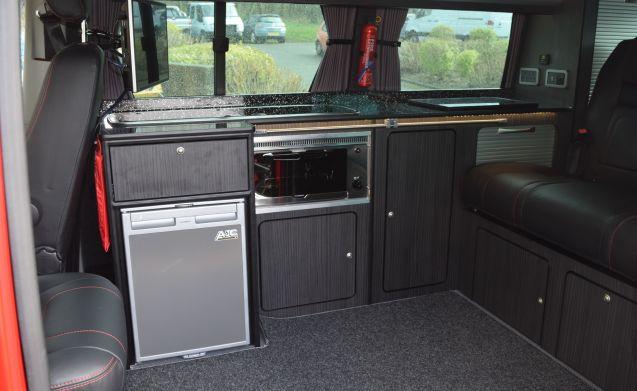 AVAILABLE BANK VW Volkswagen Transporter T6 2016 long wheel base , 4 berth