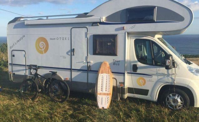 The 6 Berth Adventure Bus
