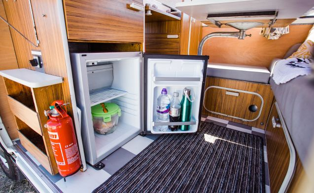 Daisy – Een prachtige Classic VW Camper te huur in Zuid-West Schotland
