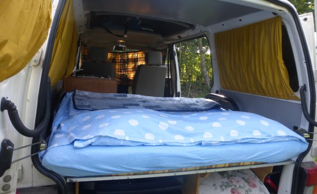 Compact camper van