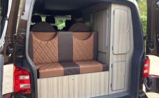 2016 VW Transporter T6 Highline Camper Van (Billy Brown Bus)