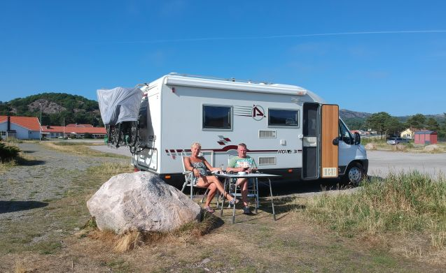 Ideal and complete camper for your perfect holiday