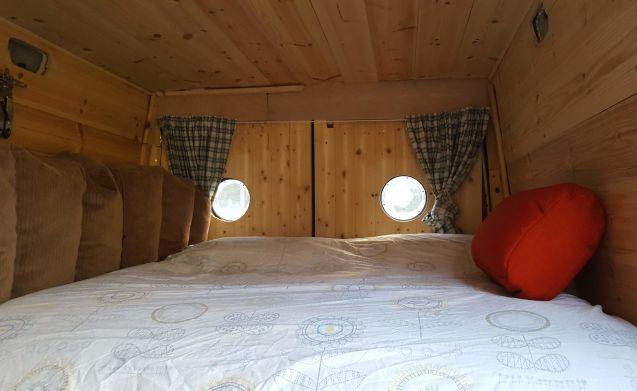 Marshmallow  – Machen Sie einen Roadtrip in Schottland in einem Campervan