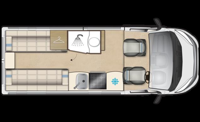 Autosleeper Luxury Warwick Duo 2 di lusso