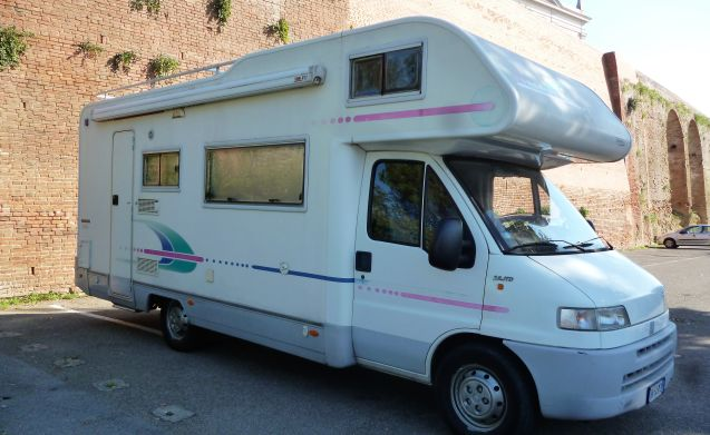 ULISSE – Tuscany and not only ... in a camper like at home!