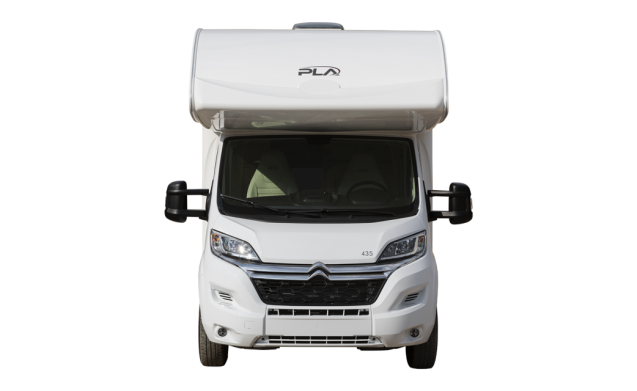 PLA 435 – Alcove family motorhome / camper / mobilhome for 6 + 1pers