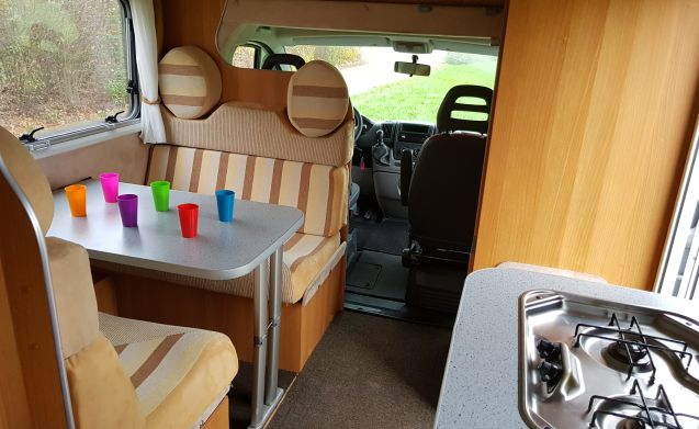 8 Fiat Mclouis Lagan 211 6 persoons camper