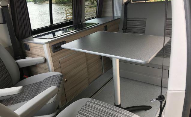 VW Campervan in het Lake District