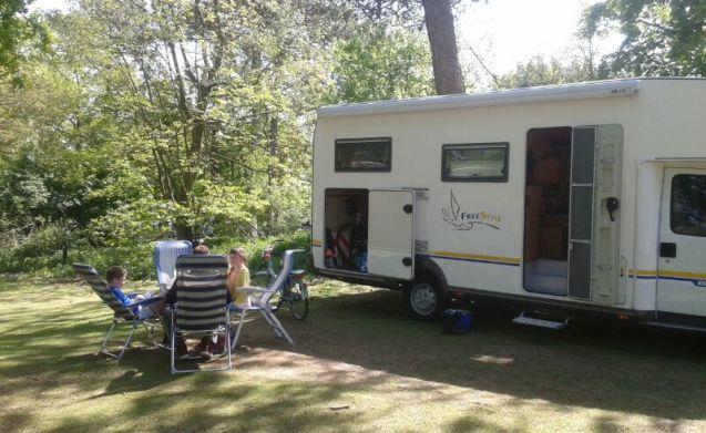 Ideal family campsite