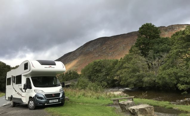 Jaggy Thistle – Jaggy Thistle Motorhome Hire no additional costs