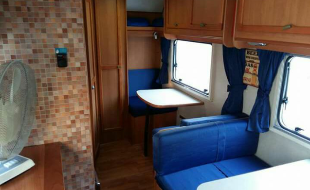 The opportunity to experience the camper without major expense