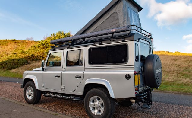 Land Rover Defender Camper -  A Unique Go-Anywhere Adventure