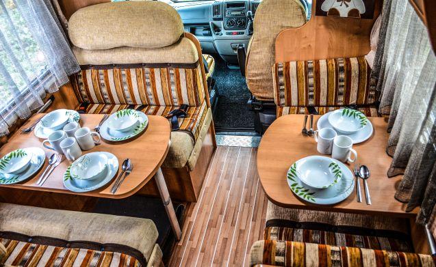 ELEGANT MOTORHOME hire (2-7 berth)