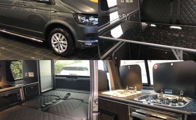 Clara – Fully Equipped VW T6 Campervan