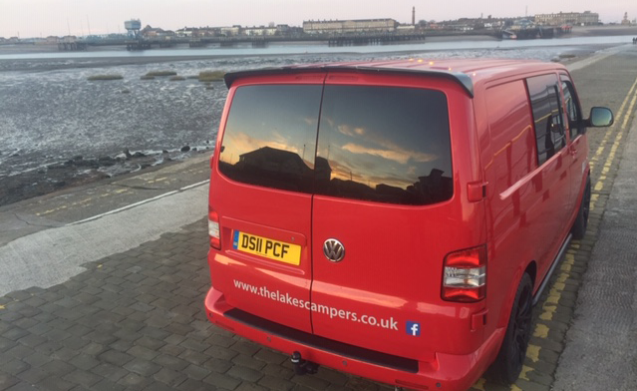 2011 VW Transporter T5 Camper Van (Ronnie Red Bus)