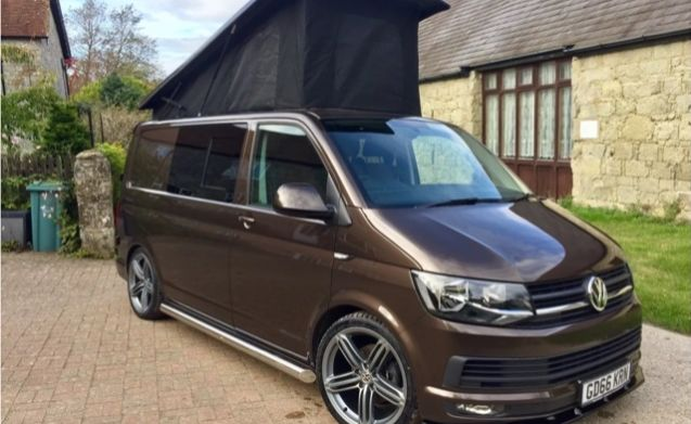 2016 vw transporter t6 highline camper van billy brown. Black Bedroom Furniture Sets. Home Design Ideas
