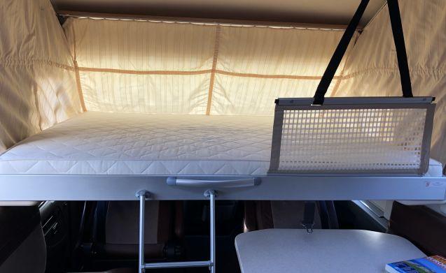 LUXE integraal camper 2 personen!