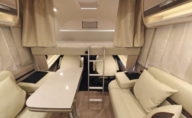 The Bullet – Luxurious and spacious 4-person Rapido