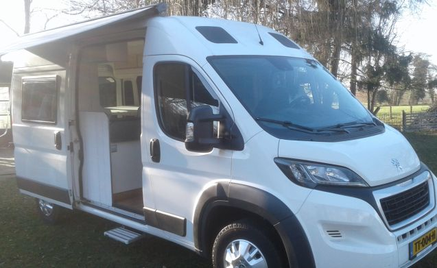 Beautiful, well-equipped bus camper for rent! 2 people in 2015