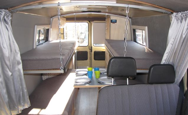 Our original and surprisingly modern rugged camper