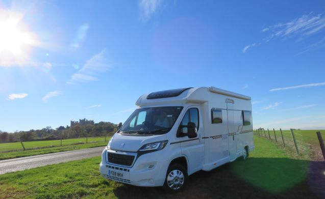 Beautiful boutique new motorhome