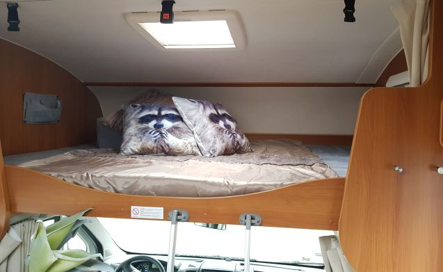 Spacious and Complete Luxury 6-person camper for rent