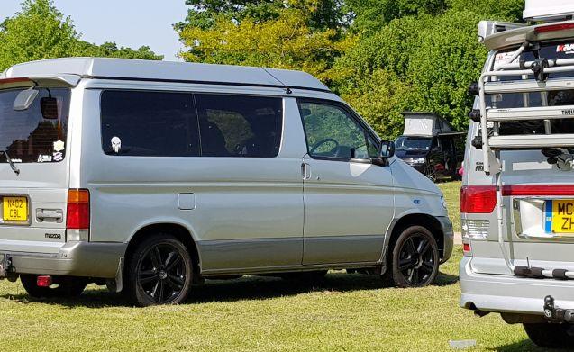 Beautiful Bongo camper with diesel heater!