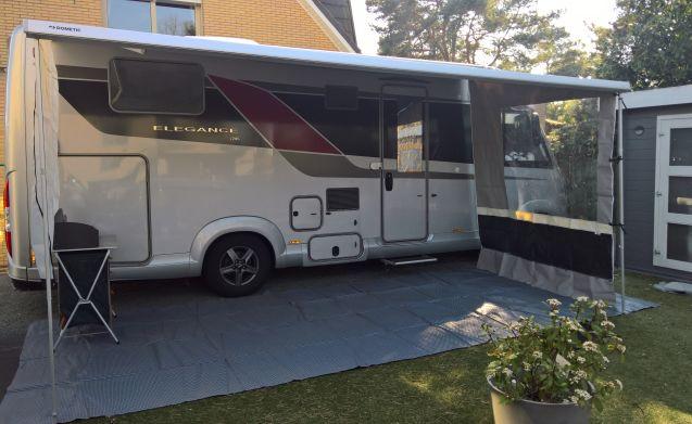 """Elegance – Burstner Elegance I745 driver's license C1 """"Summer & Winter camper."""""""