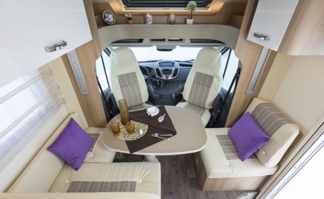 Ruime en luxe ROLLER TEAM AUTO-ROLLER 265 TL uit 2017 !