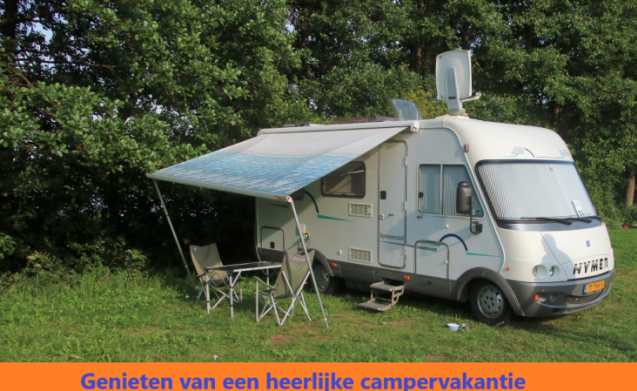 Compact, very complete Hymer integral seat from 52 euros per day!