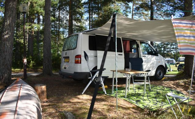 VW Transporter T5 (4x4) for the primitive camper