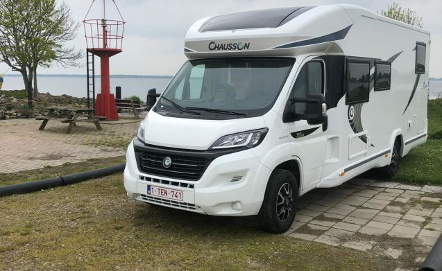 New mobilhome tip top in order to rent!