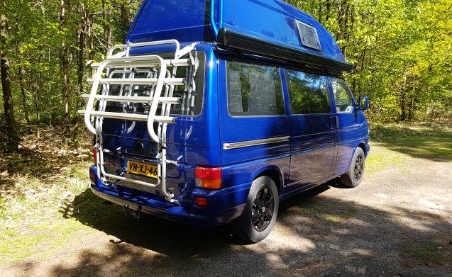Bleu  – Volkswagen t4 westfalia met airco