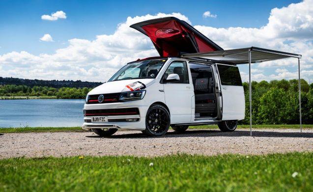 VW TRANSPORTER CAMPER RENTAL, HIGH SPEC SPORTS VAN