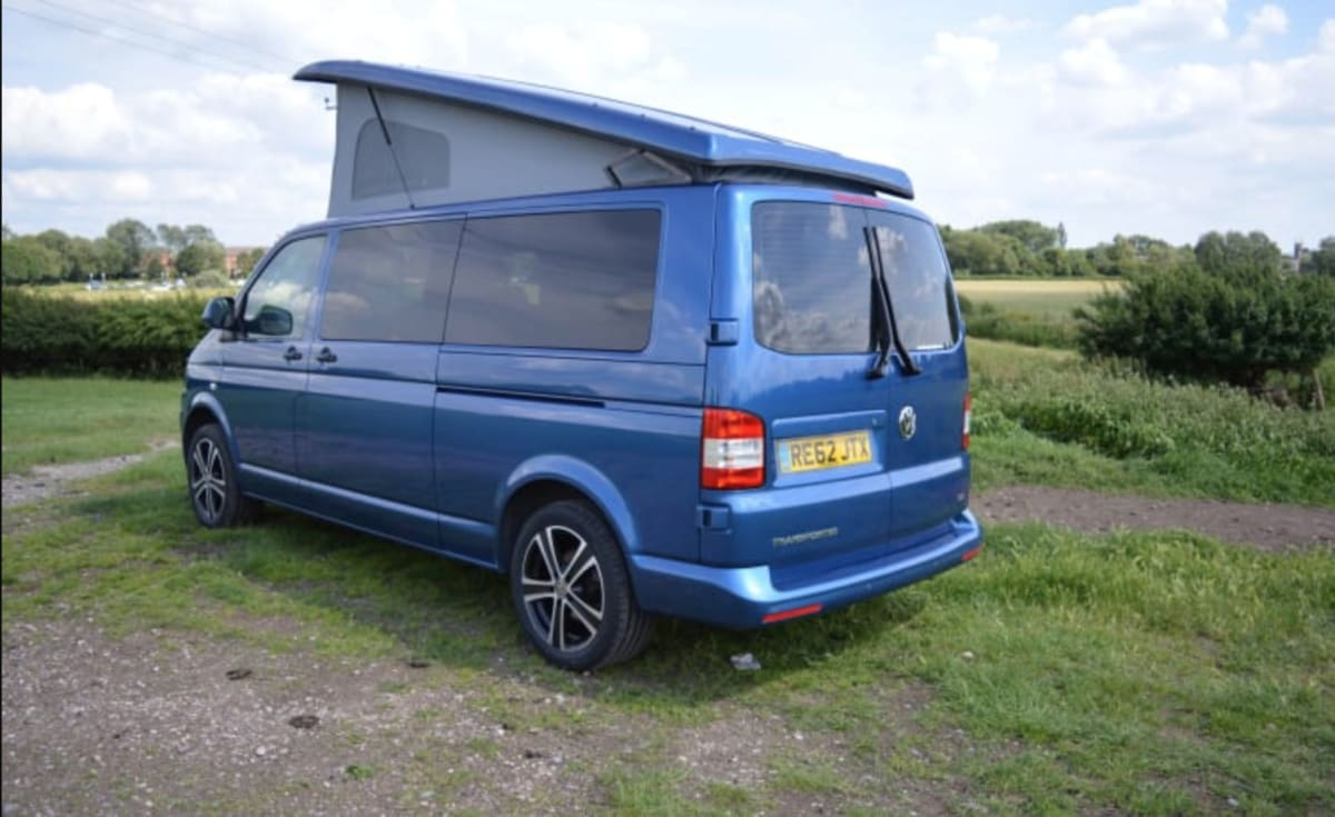 Vw T5 Camper Long Wheelbase 4 Berth From 97 00 P D Goboony