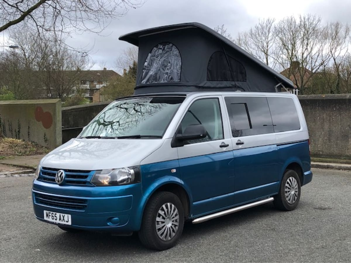Kingfisher Vw Transporter Automatic Pop Top 4 Berth From 114 00 P D Goboony