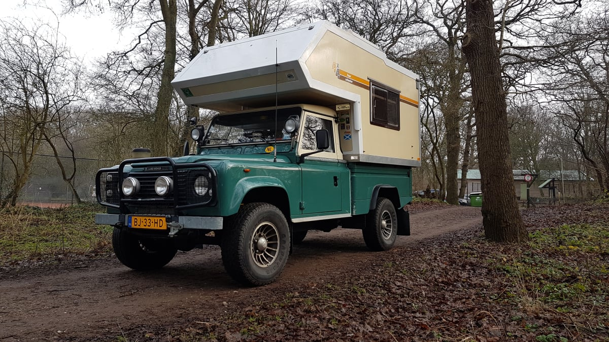 Camprover Landrover 4x4 Expedition Camper From 95 P D Goboony
