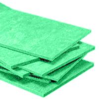Plafonds en laine de roche