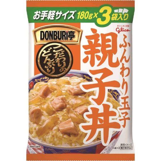グリコ DONBURI亭親子丼3P 540g