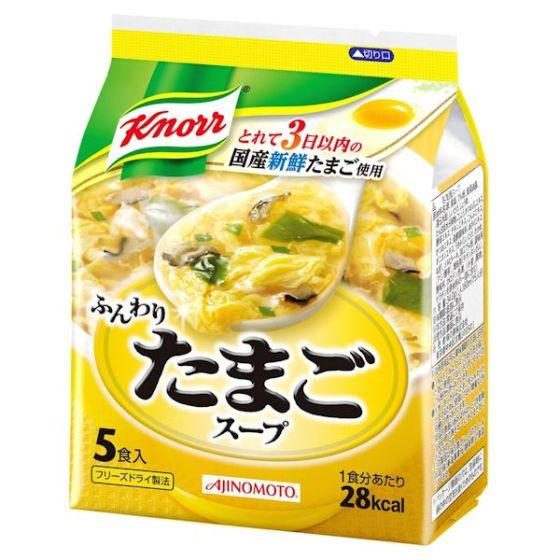 クノールふんわりたまごスープ 34g